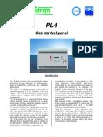 Gas Control Panel DP574e