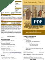 IoneCC Nov 11 Bulletin