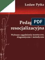Lesław Pytka - Pedagogika resocjalizacyjna