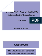 Chap001-The Life Times and Career of the Professional Salesperson