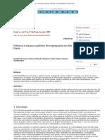 Estudos Avançados - Pobreza e espaço_ padrões de segregação em São Paulo