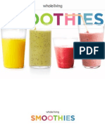 Whole Living Smoothies