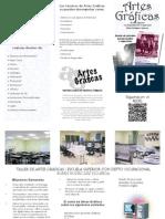OPUSCULO TALLER DE ARTES GRAFICAS 2014-2015