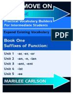 Let' Move On - Book One Using Suffixes To Expand Vocabulary