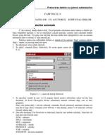 Excel Prelucrarea Datelor Cu Ajutorul Subtotalurilor