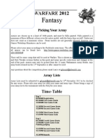 Warfare Fantasy Rules Pack 2012.-5392