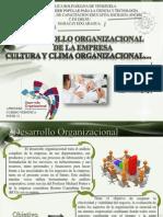 Desarrollo Organizacional de La Empresa