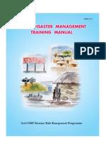Block Disaster Training Manual