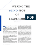 Uncovering the Blind Spot of Leadership
