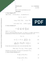 IB Electromagnetism Formulae and revision (Cambridge)