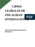 Principios globales de fiscalidad internacional