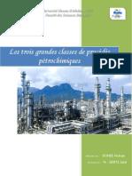 OUAHBI_Hicham_Rapport_Les trois grandes classes de procédés pétrochimiques