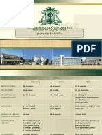Calendario UQROO 2012