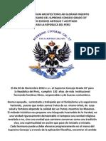 Scrsaa Peru Aniversario 2012
