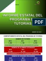 Informe Estatal de Tutorias