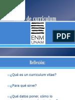 Presentación Taller de currículum 2012