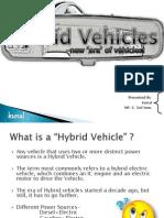Kunal Hybrid Vehicles