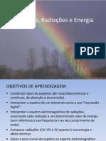 Radiação e espetros