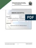 Coliseo Memo Descriptiva