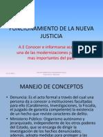 Funcionamiento de La Nueva Justicia