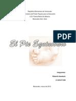 El Pie Equinovaro