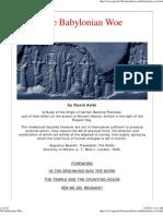 Babylonian Woe, The - David Astle
