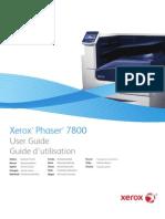 p7800 User Guide Es