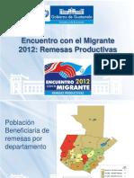 Presentacion Encuentro con el migrante
