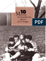 10 Maneras de Ensenar Los Valores en El Hogar