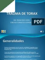 Trauma de Torax