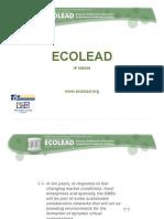 ECOLEAD Basic Presentation