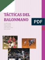 TÁCTICAS DEL BALONMANO