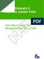 QEII Coastal Management Plan DRAFT FOR CONSULTATION