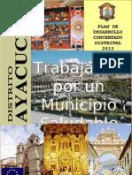 Plan Desarrollo Concertado Ayacucho 2013 Actualizado 140409