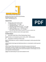 UPSA 2012-11-08 Meeting Action Notes