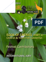 WILDLIFE VAASA FESTIVAL 2012-BOOK OF ENTRIES 2