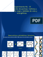 Xantinas. Lab Orgánica III