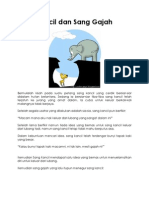 Sang Kancil Dan Sang Gajah
