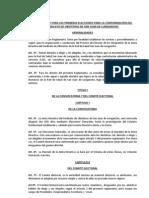 Propuesta de Reglamento Electoral Para Sindicato de Obstetras SJL 2012