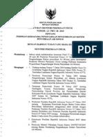 Peraturan Menteri Pekerjaan Umum Nomor 12/PRT/M/2010 tentang Pedoman Kerjasama Pengusahaan Pengembangan Sistem Penyediaan Air Minum
