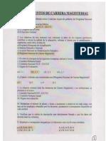 Cuestionario Estudio de Carrera Magisterial[1]