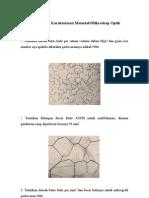 Soal Latihan Karakterisasi Material