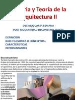 14 Semana Hist Deconstructivismo