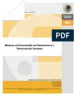 C-EVAL-02 MANUAL DE EVALUACIÓN DE COMPTYENCIA VERIFICACIÓN INTERNA