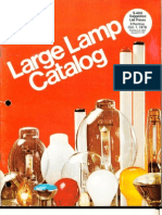 Westinghouse Oct. 1978 Large Lamp Catalog
