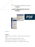LinkSprite TestSoftwwar Instruction