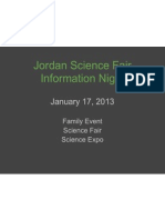 scifair info night - general presentation