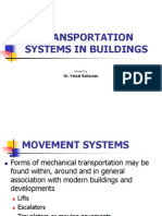 REG562 - Lecture 3_Transportation Systems in Buildings