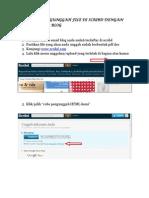 Tutorial Mengunggah File Melalui Scribd Dengan Compose Pada Blog