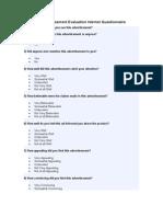 Question Rosoft Word Document